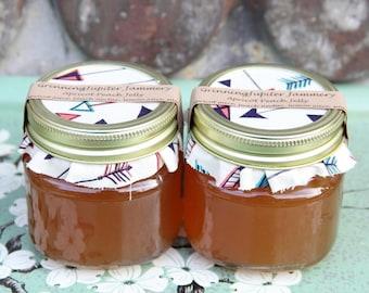 Homemade Apricot Peach Jelly - 8oz
