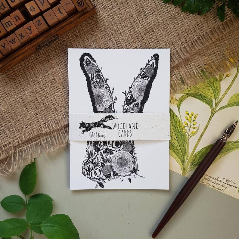 Small Print Sets Mixed Print Bundle Illustrated Animal Postcards Animal Postcard Pack : Pack of 4