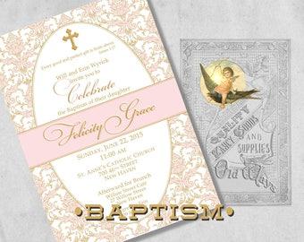 elegant baptism etsy