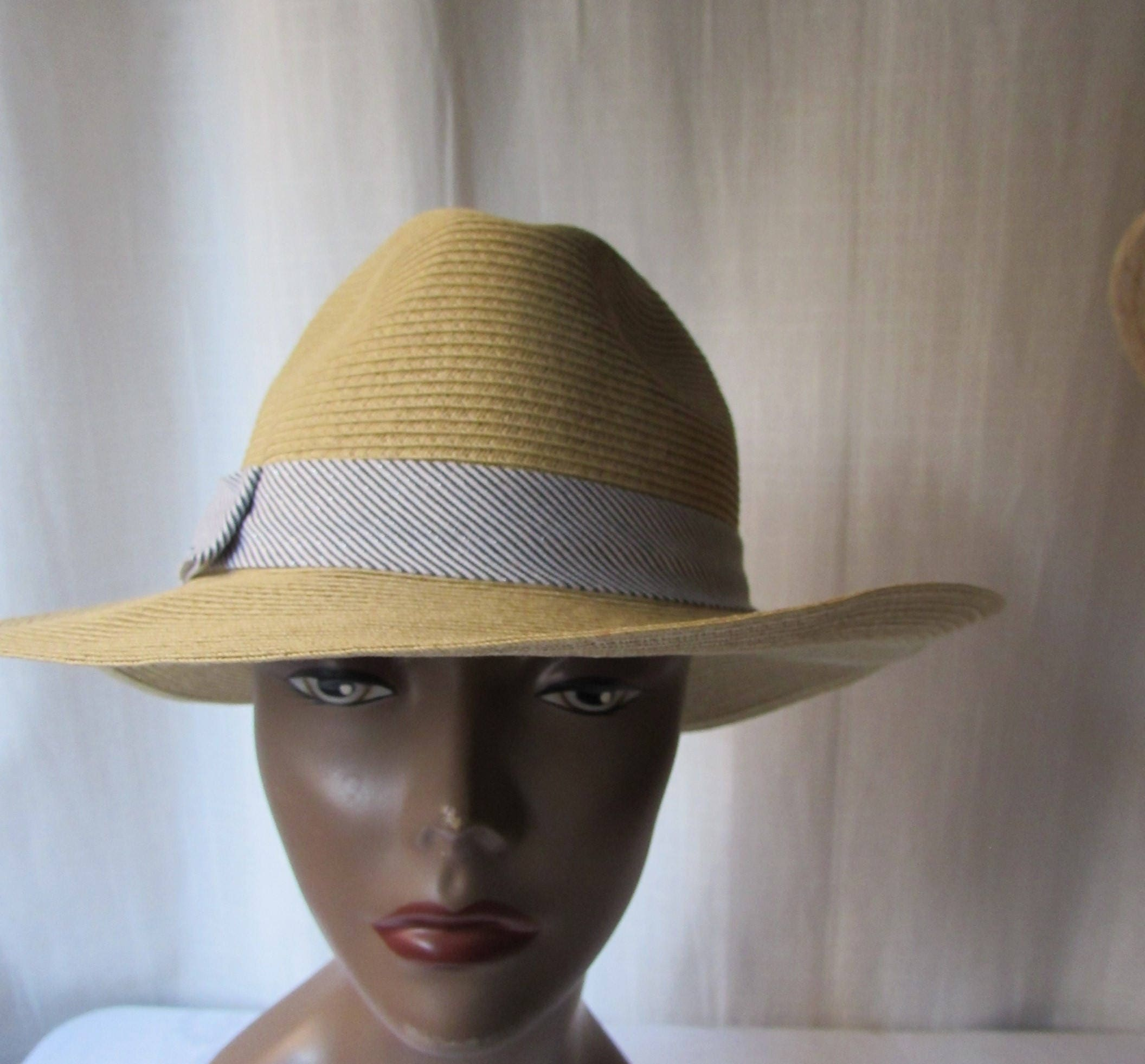 28d94e249 HAT SCALA PRONTO made in Italy beige fedora soft high fashion unisex