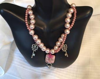Pink Pearl Locks & Keys