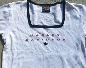 Harley Davidson Shirt Women Etsy
