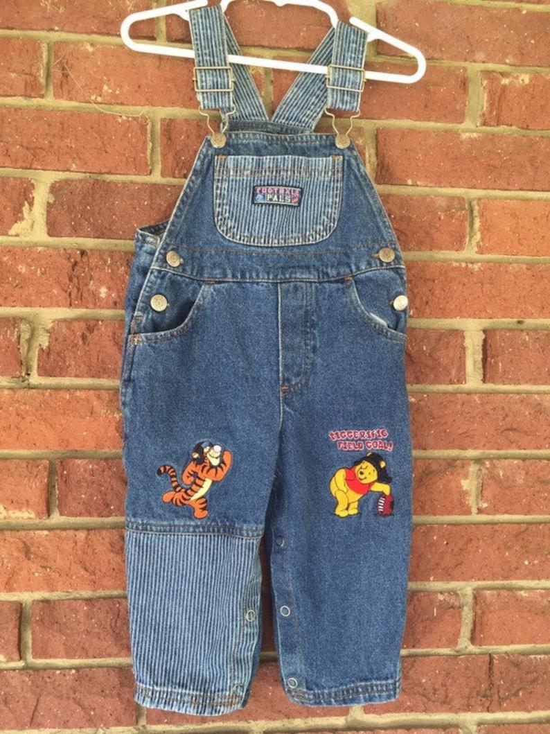 Boys Dungarees Denim Bib Pocket Denim Pants Jeans Trousers 18 Months to 3 Years