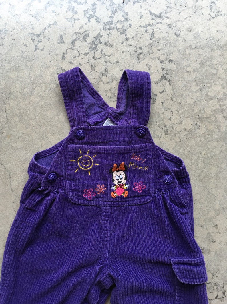 Vintage Oshkosh Overall 24 Mo Denim Very Faded Teddy Bears Vestbak Snap Crotch Clothing, Shoes & Accessories