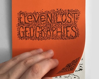 Eleven Lost Geographies Coloring Book