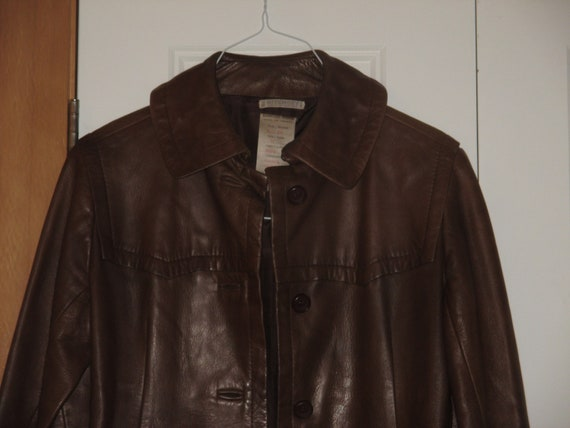 Rare Vintage 1960s - 1970s Givenchy French Leather