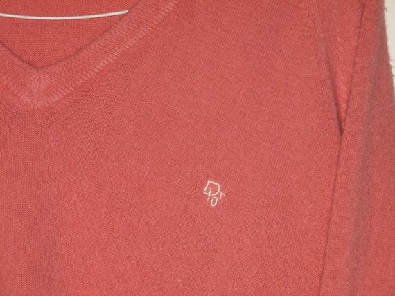 Rare Vintage 1980s Christian Dior Logo Sweater - image 7