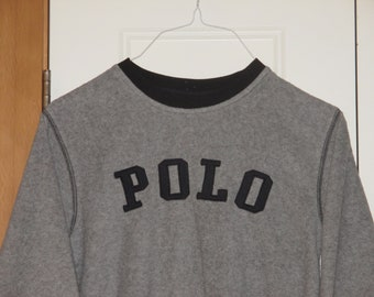 Rare Vintage 1990s Polo Sport Ralph Lauren Pullover Logo Jacket
