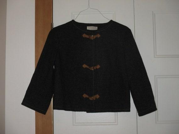 Rare NOS Vintage 1950s Pendleton Cropped Wool Shaw