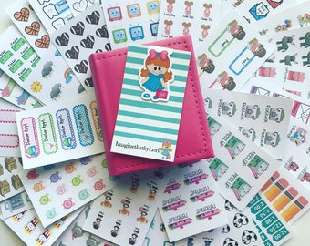 STICKERS ONLY- over 400 stickers in this sampler set
