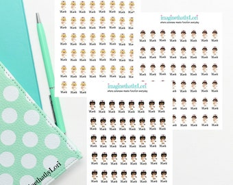 New MINI Nurse planner stickers-please note that these are a new smaller size