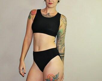 4ee61c83bb Bamboo French Cut High Waist Underwear  Custom Size   8+ Colors