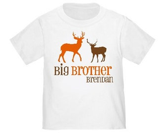 Big Brother Deer Hunter Personalized T Shirt