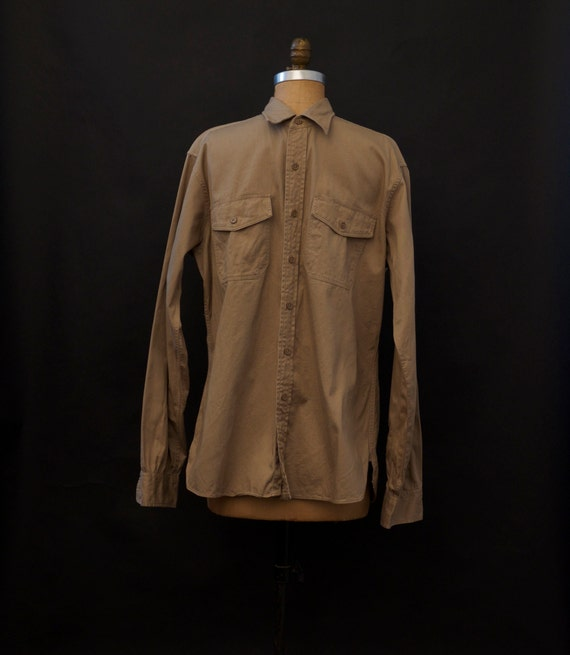 1950s Elbeco Sanforized Military Shirt