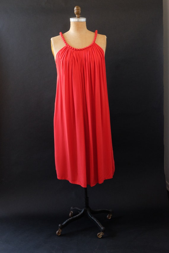 Red Rayon Dream Dress