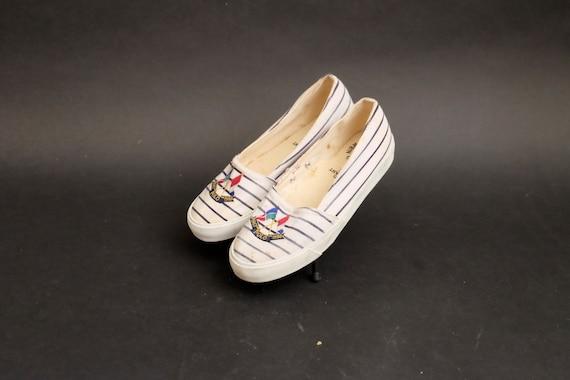 Vintage 1980s Slip on Polo Ralph Lauren Shoes Sne… - image 1