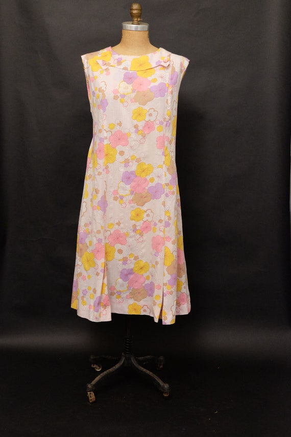 Vintage Late 1940s Early 1950s Dress