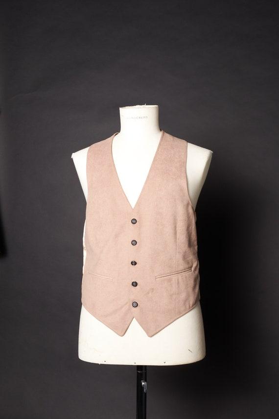 Vintage 1970s Tan Vest