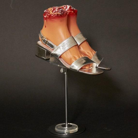 1960s DEADSTOCK Pappagallo Silver Sandals