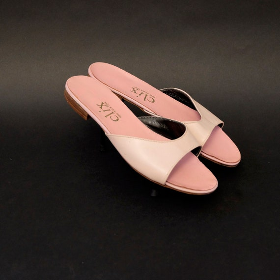 Vintage Pink Sandals Bed Slippers