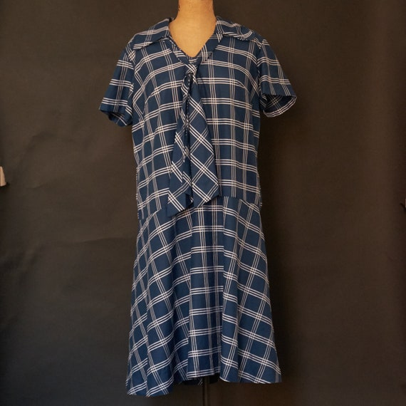 1950s Nautical Style House Dress