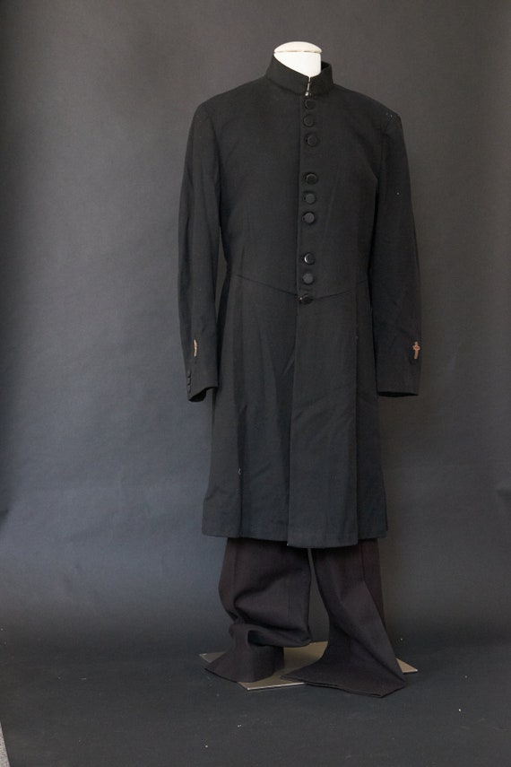 1930s Knights Templar Wool Frock Uniform Coat Pant