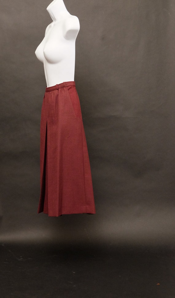 1970s Culottes Shorts Skirt - image 4
