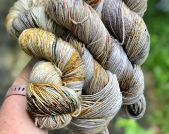 3ply fingering weight ~ Spice Jar ~ 490 yards each of fingering weight yarn