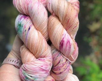 3ply fingering weight ~ Pigeon ~ 490 yards each of fingering weight yarn