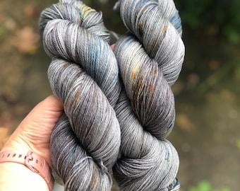 Fingering/sock weight - Sock yarn - 80/20 Superwash Merino/Nylon - November Skies