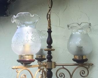 Kronleuchter Hängelampe Vintage 50u0027s 60u0027s Retro Ethicaldesign  Interiordesign Antik Vintagestyle Lampe Bohème