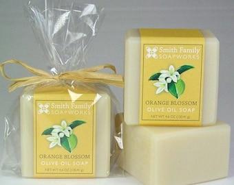 Fiori d'arancio Soap - Sapone artigianale, sapone, sapone naturale, processo freddo sapone