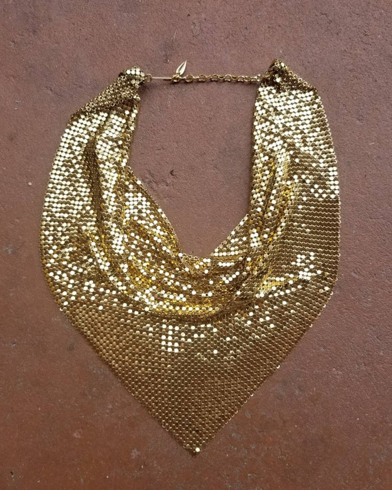 Whiting and Davis Gold Necklace