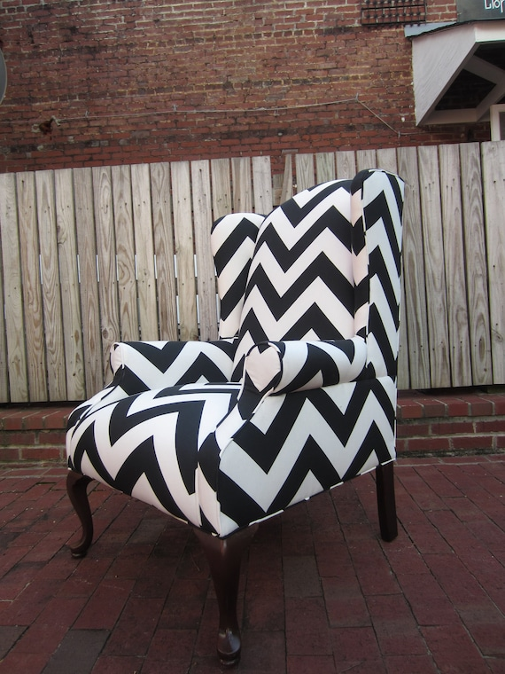 Items similar to Accent Chair - CheckMate on Etsy