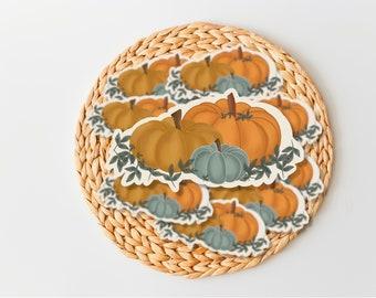 boho Pumpkin sticker - Fall Planner Stickers, Journal, boho stickers, autumn die cut stickers, Scrapbook, Hygge Stickers, Happy Planner