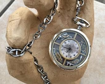 Antique Warner Bros. Pocket Watch