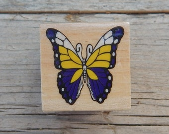 Butterfly Rubber Stamp  ~  Spring Rubber Stamp