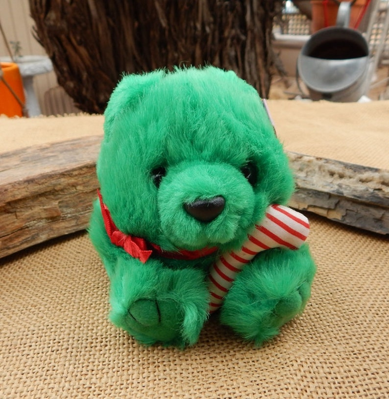 NOS Puffkins 1997  ~  Jingles the Bear Cub Puffkins  ~ Puffkins ~  New Old Stock Never Displayed or Played With  ~  Puffkins Plush Cub