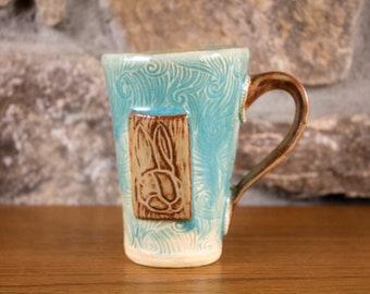 Ceramic Bunny Rabbit Mug