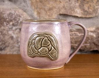 Purple Ceramic Bunny Mug