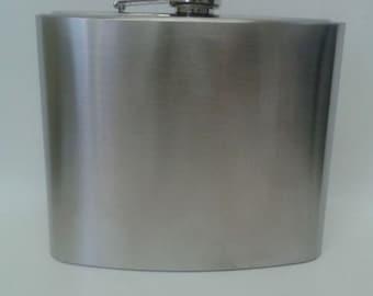 Liquor Flask - 32 ounces - Stainless Steel