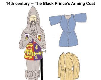 RH023 - 14th century Jupon of the Black Prince Pattern