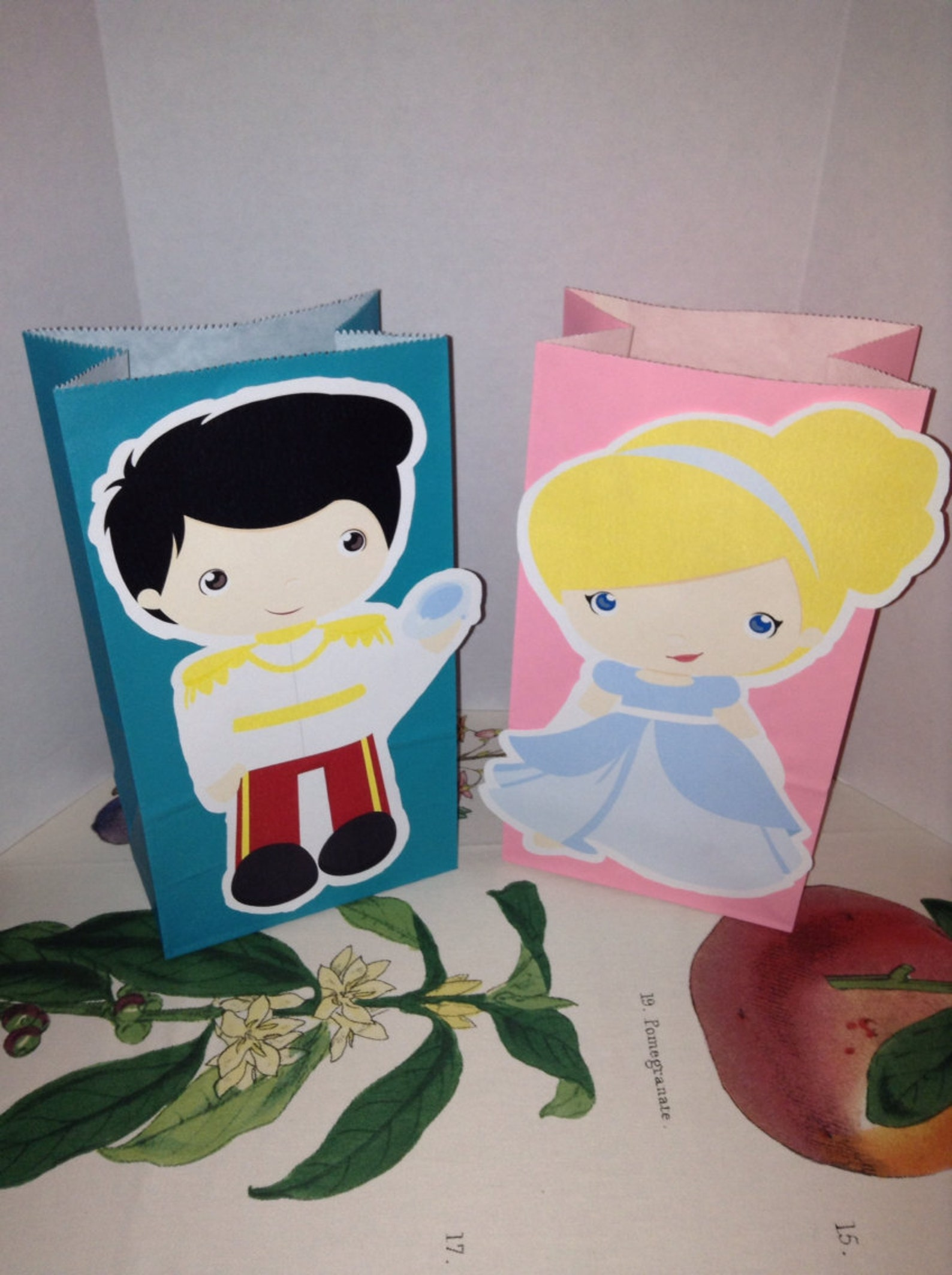 Princess Party Favor Bags Page Two