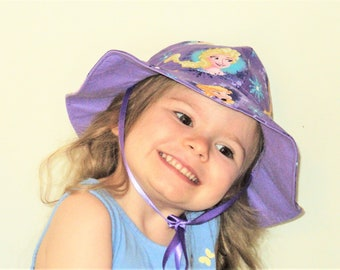 5e11f1b0b Purple sun hat | Etsy