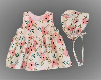 Baby Dress And Sun Hat 934886e9c3d4