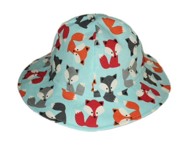 1ed77f93c65b2 Baby Sun Hat Childrens Summer Hat Fox Baby Hat Girl or Boy