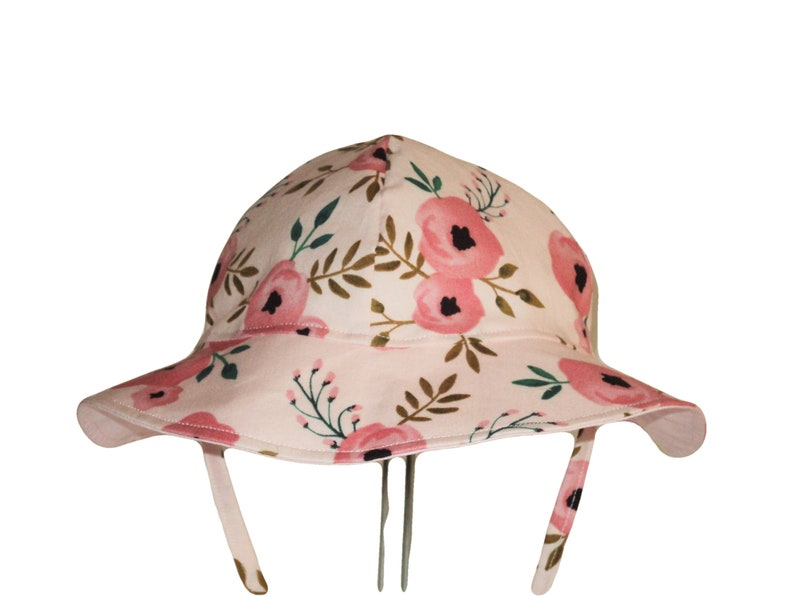 925aed5f20667 Baby Sun Hat Floppy Beach Hat Or Baby Bonnet Toddler Girl
