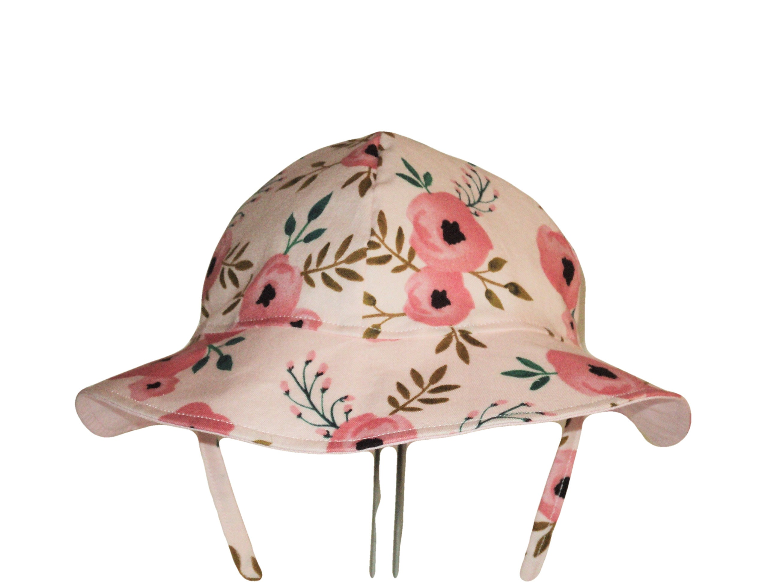 Baby Sun Hat Girls Hat Choose Floppy Hat Or Baby Bonnet  36950a513be