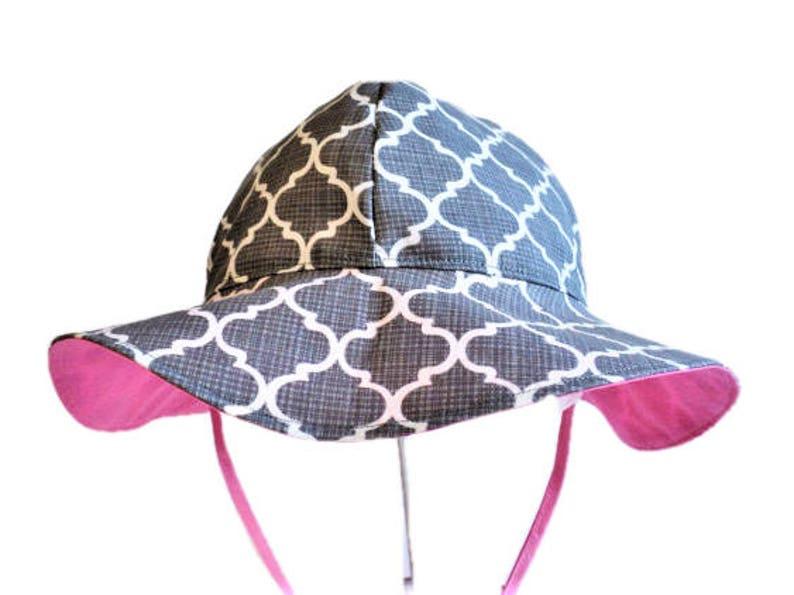 cfd6fd5b166b4 Baby Sun Hat Girls Summer Hat Wide Brim Floppy Beach Hat
