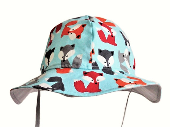 9e107ebfbed Kids Summer Hat Baby Sun Hat Fox Baby Hat Girl or Boy Sun